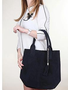 Італійська жіноча натуральна шкіряна сумка 36х27х18