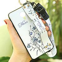 Чохол Lanyard для Meizu M3 Note бампер з ремінцем White