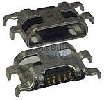 Разъем заряда Micro-USB Motorola XT1063, XT1064, XT1068