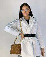 Куртка з ременем жіноча демісезонна 42-44 46-48