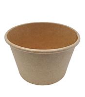 Супник з картону крафт без кришки 8 Oz/250мл, упаковка 50шт, (2,80 грн/шт), фото 1