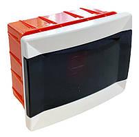Распределительный  щиток  пластиковый для монтажа в стену на 6 модулей