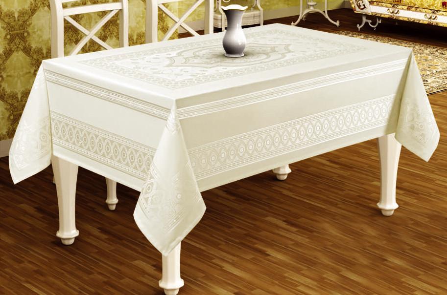 Скатертина Sagol тефлон 160x220 St-052 Cream