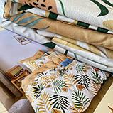 Постельное белье Двуспальный комплект с простыню на резинке 160*200+20см Постельное белье с фланели размер 2,0, фото 4