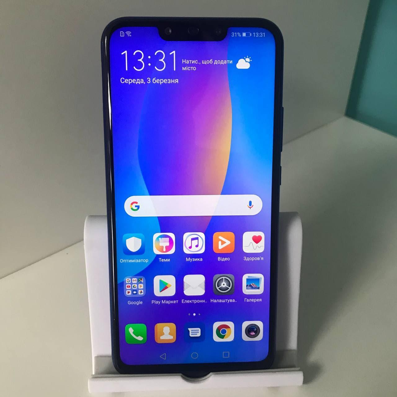 БУ Смартфон HUAWEI P smart+ 4/64GB Iris purple, фото 7