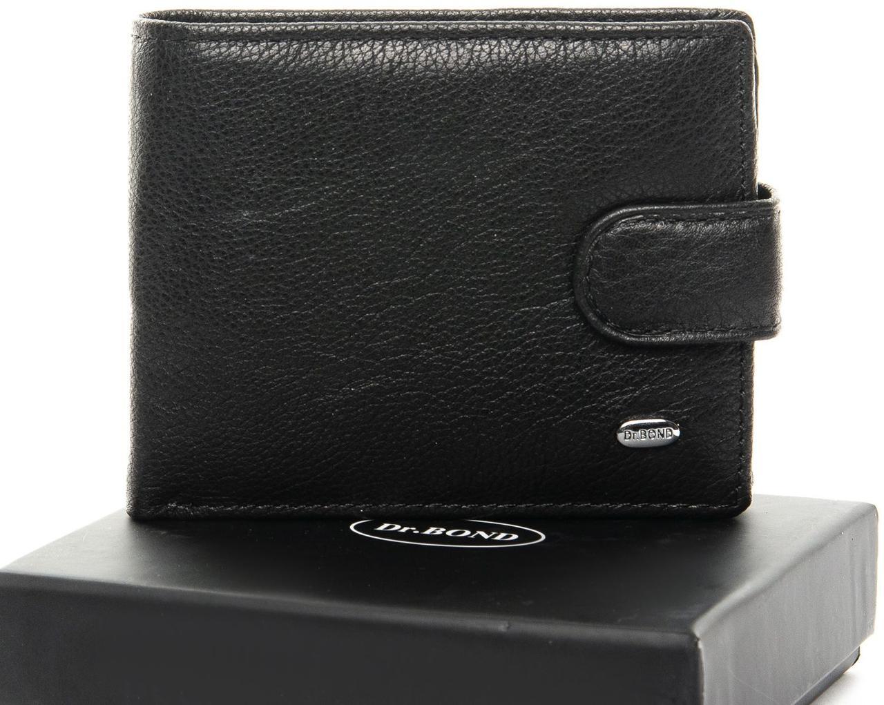 Мужской кошелек из натуральной кожи dr.Bond Classic