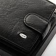 Мужской кошелек из натуральной кожи dr.Bond Classic, фото 3