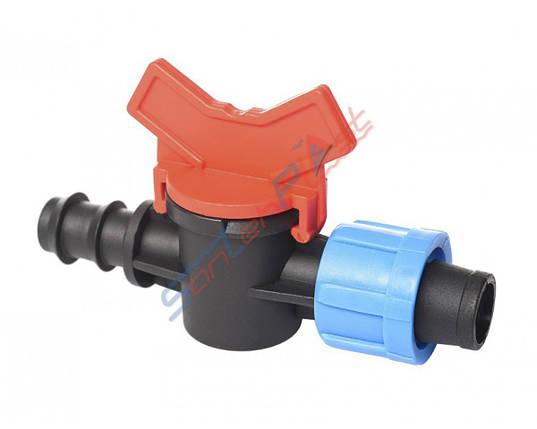 Кран редукційний трубки-стрічки (DT-DP), фото 2
