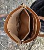 Сумка жіноча шкіряна велика коричнева набір 2 в 1, фото 5