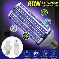 Бактерицидная лампа UV-C 220V E27 254nm 60W Ультрафиолетовая
