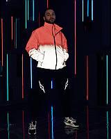 Куртка мужская демисезонная Пушка Огонь Yard с капюшоном, светоотражающая куртка красно-рефлективная, фото 1