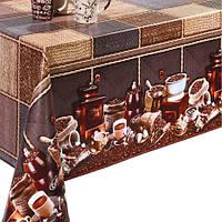 Клеенка на флизелиновой основе Декорама Кофе Ротанг