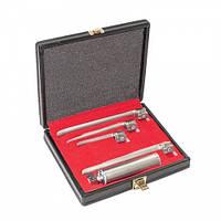 Набор ларингоскопический Miller Рис. = 1 - 4, со средней ручкой, обычный, J-13-155