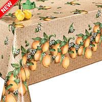 Клеенка на флизелиновой основе Декорама Лимоны