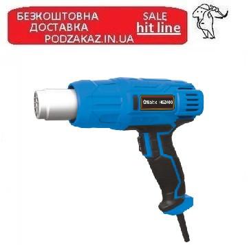 Фен строительный 600С 2400Вт Baltic HG2400 ПРОФИ СЕРИЯ.