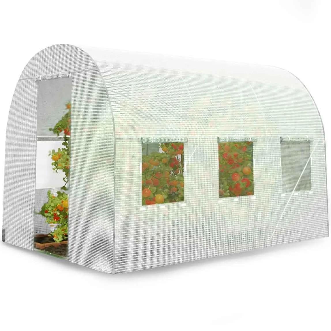 Теплиця парник з вікнами 6 м² 3 х 2 х 2 м для дачі, городу