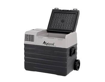 Компрессорный автохолодильник Alpicool ENX42. Охлаждение до -20℃. Питание: встроенная батарея, 12, 24, 220 В