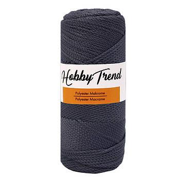 Полипропиленовый шнур Макраме Hobby Trend. Атмосфера. 200г, 230м, 2-3 мм