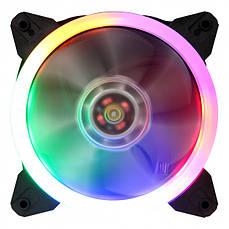 Вентилятор 1stPlayer R1 Color LED bulk; 120х120х25мм, molex
