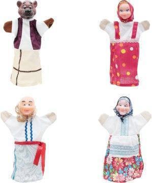 """Домашній ляльковий театр """"Три ведмеді"""" (4 персонажа), фото 2"""