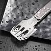 Компактний міні набір для барбекю Roxon S602G сірий, фото 7
