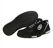 Кроссовки мужские черные стильные, фото 3