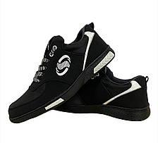 Кроссовки мужские черные стильные, фото 2