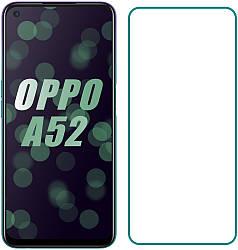 Защитное стекло OPPO A52 (Прозрачное 2.5 D 9H) (Оппо А52)