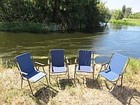 """Крісла для пікніка складні, кемпінгу, відпочинку на природі, стільці туристичні рибальські """"Комфорт-СН4"""""""