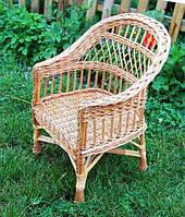 Кресло из лозы, Кресло С Завышенной Спинкой