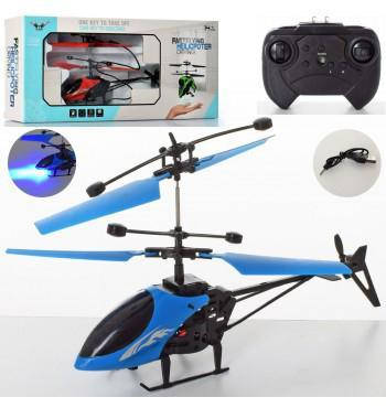 Вертолет CX138 на радиоуправлении, 19 см, свет, аккумулятор, фото 2