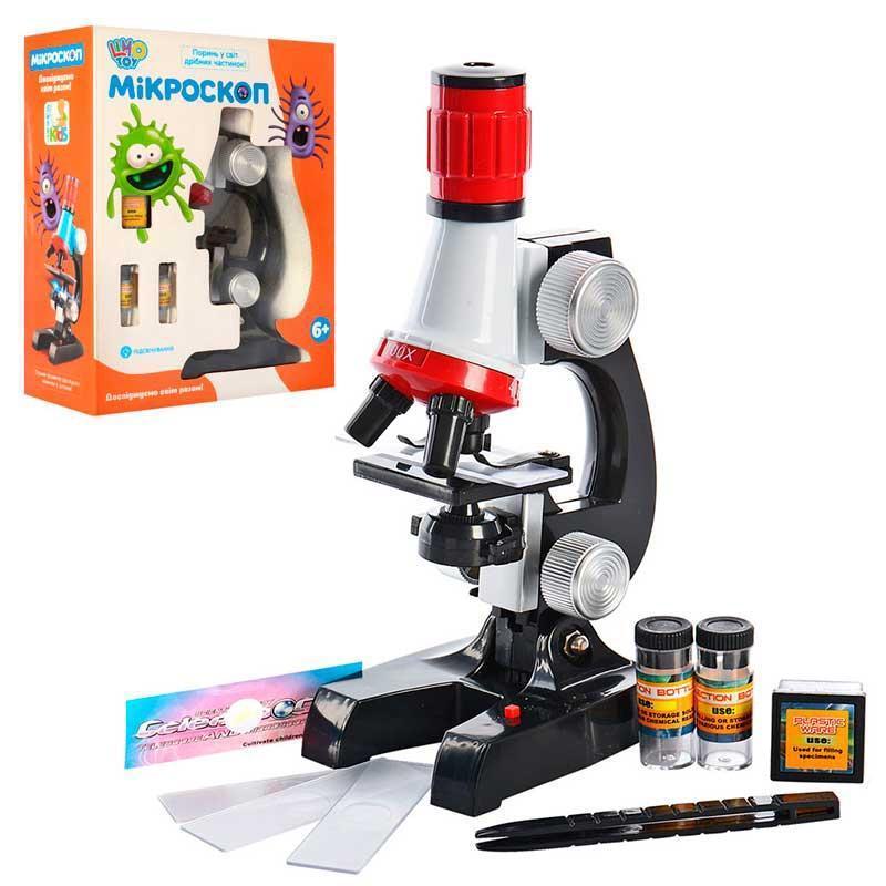 Дитячий мікроскоп SK 0008 з набором для досліджень - Limo Toy