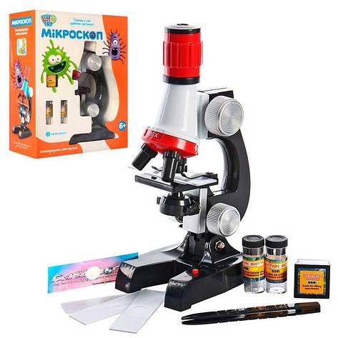 Дитячий мікроскоп SK 0008 з набором для досліджень - Limo Toy, фото 2