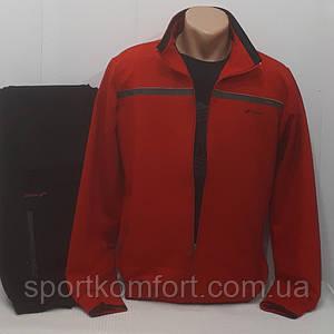 Турецький червоний спортивний костюм демісезонний FORE бавовна 74 розміри л хл 2хл 3хл