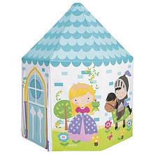 Ігрова, надувна намет-будиночок Принцеси Intex для дівчаток від 3-х років, 104х104х130 см