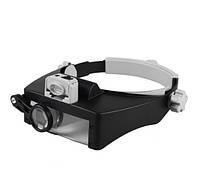 Лупа бинокулярная Magnifier 81007-RD 8Х
