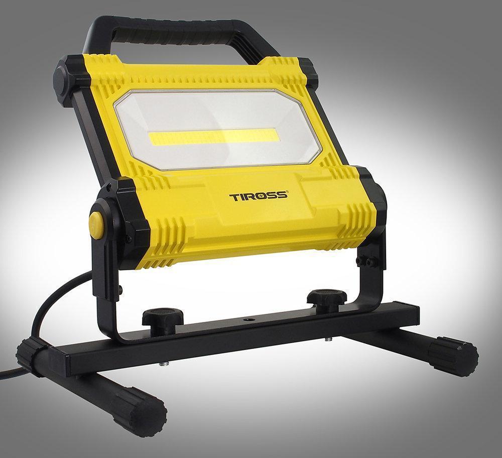 Фонарь рабочий переносной Tiross TS-1847 30w LED COB