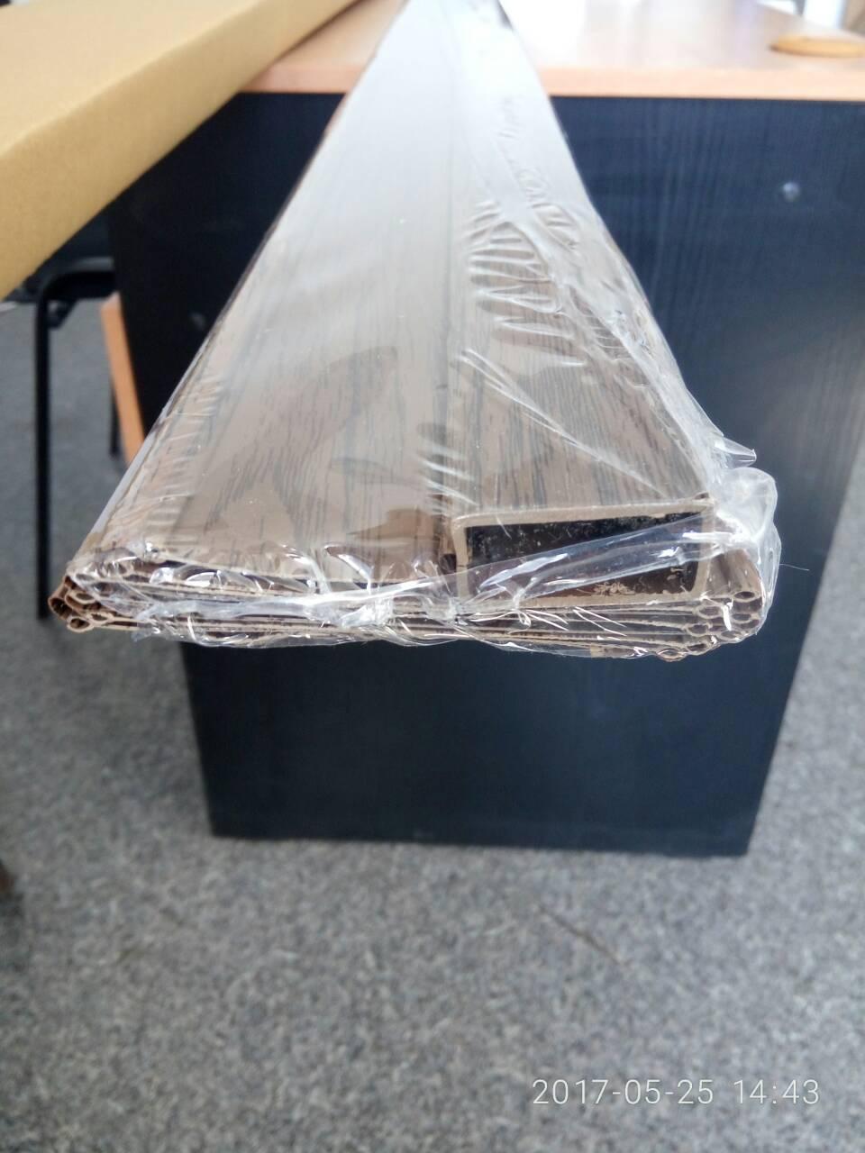 Ширма - гармошка белая 820х2030х0,6 мм гармошка раздвижная межкомнатная пластиковая глухая - фото 10