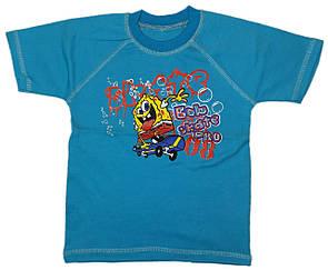 Дитяча кольорова футболка для хлопчика з відстрочкою інтерлок