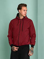 Мужская куртка ветровка из плащевой ткани с подкладкой Tailer, размеры от 48 до 58, демисезонная куртка