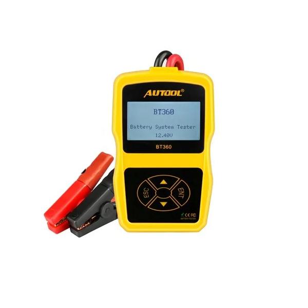 Тестери АКБ зарядні пристрої
