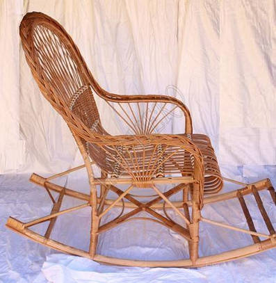 Кресло качалка, Кресло Качалка Из Лозы