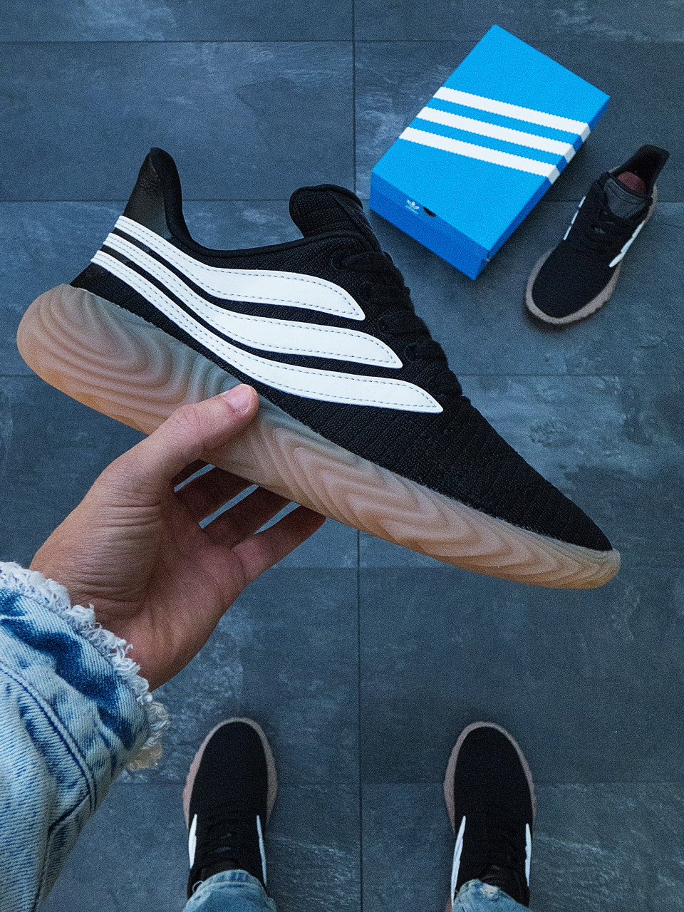 Чоловічі кросівки Adidas Sobacov Адідас Собакою