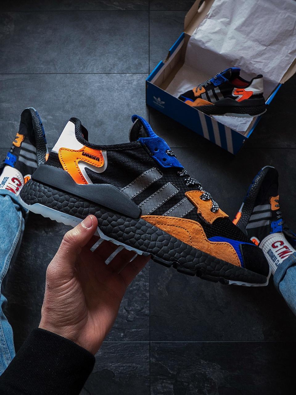 Ммужские кроссовки  Adidas Nite Jogger 43 размер c нюансом