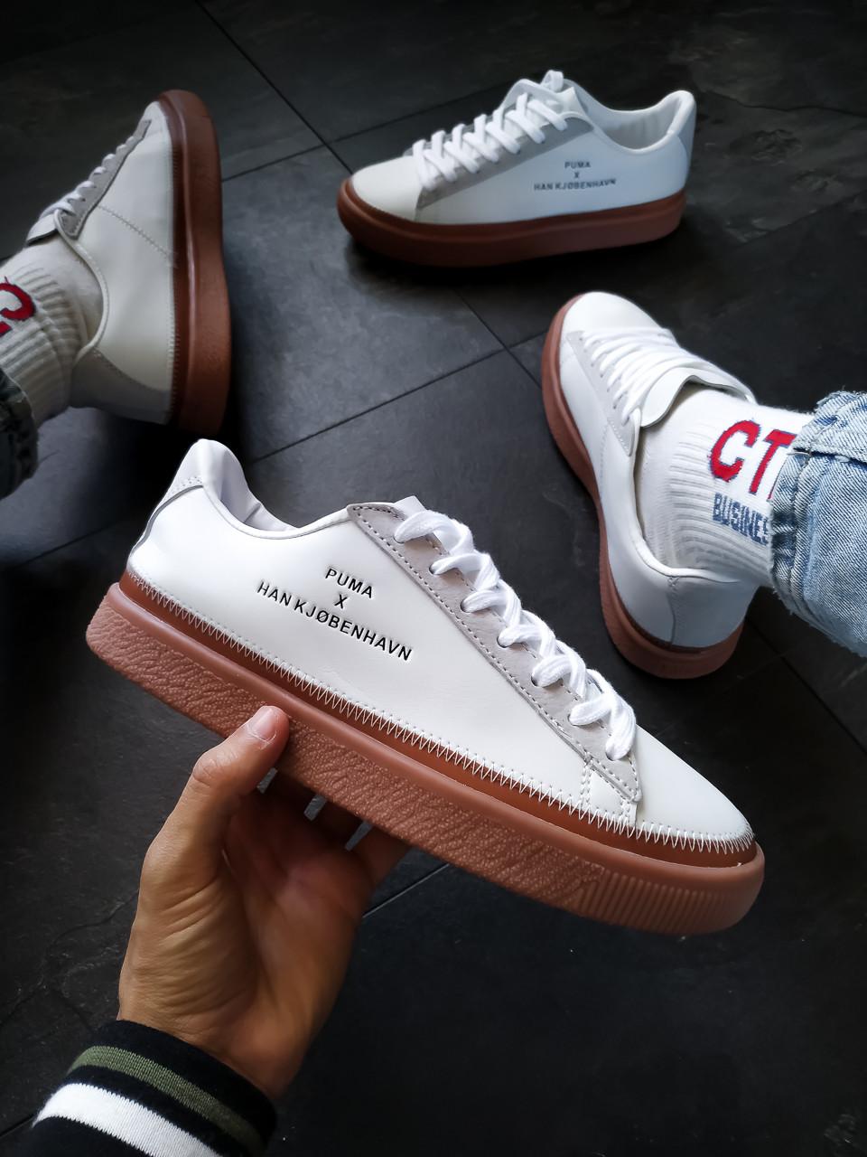 Кросівки Puma жіночі x HAN KJOBENHAVN білі