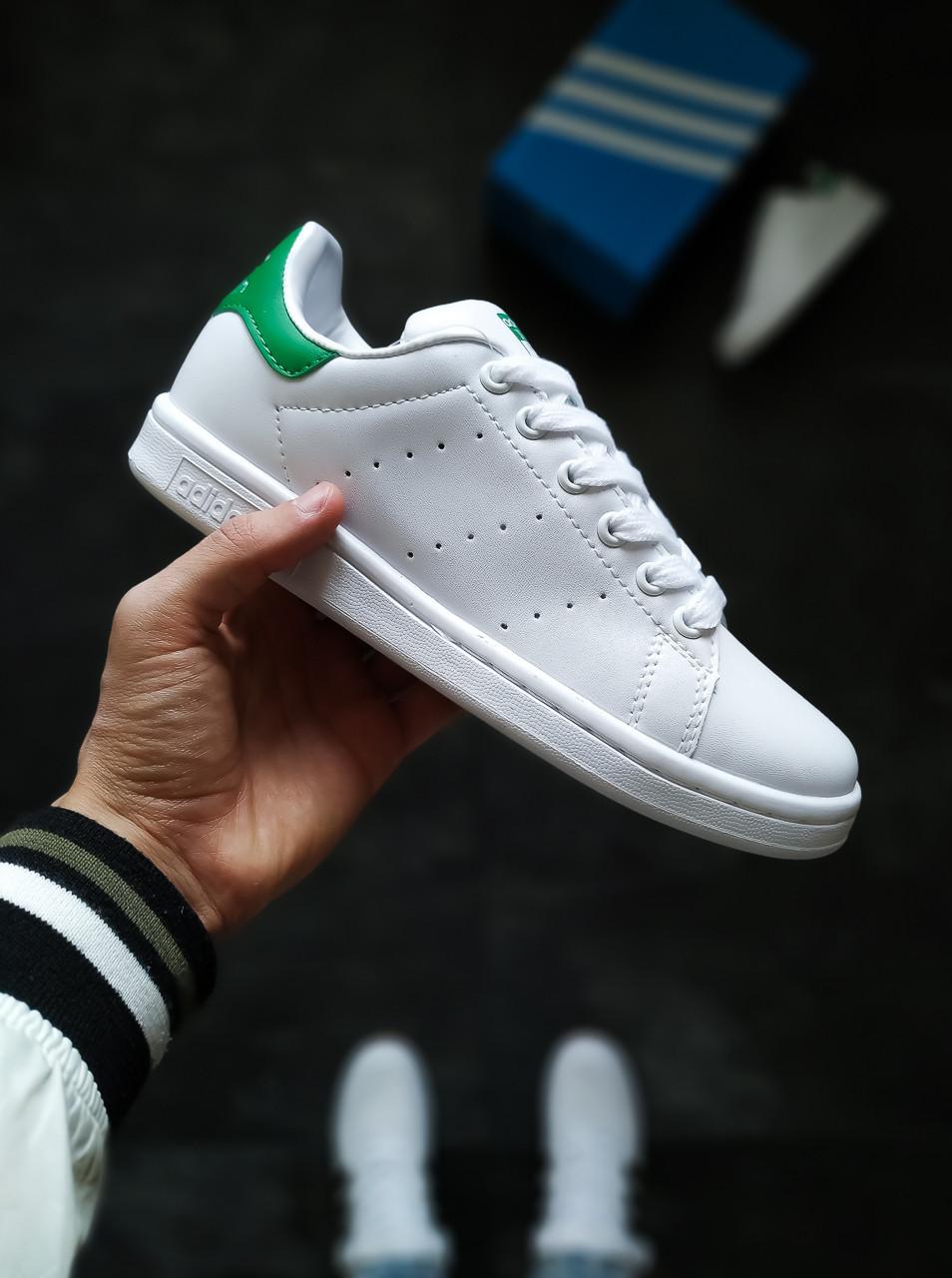 Женские кроссовки Adidas Stan Smith белые 37, 39 размер