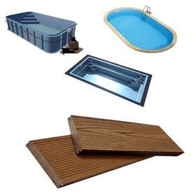 Отделка бассейнов террасной доской