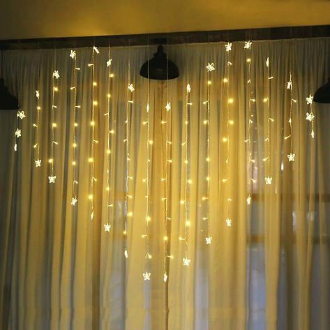 Ночник в комнату в форме сердца с бабочками 3х2 м Золотой, 8 режимов, от сети, фото 2
