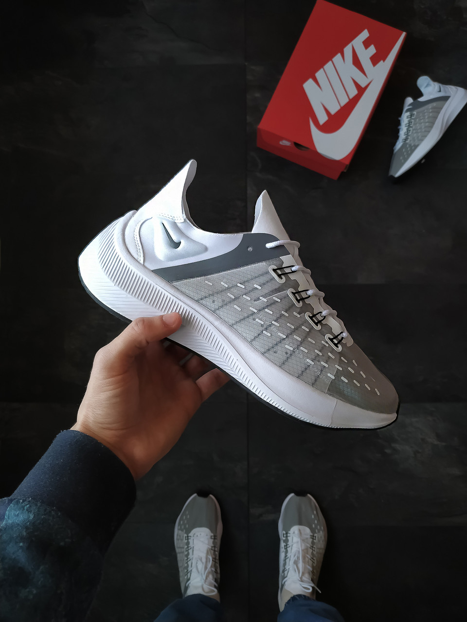 Кросівки чоловічі Nike EXP-X14 Сірі