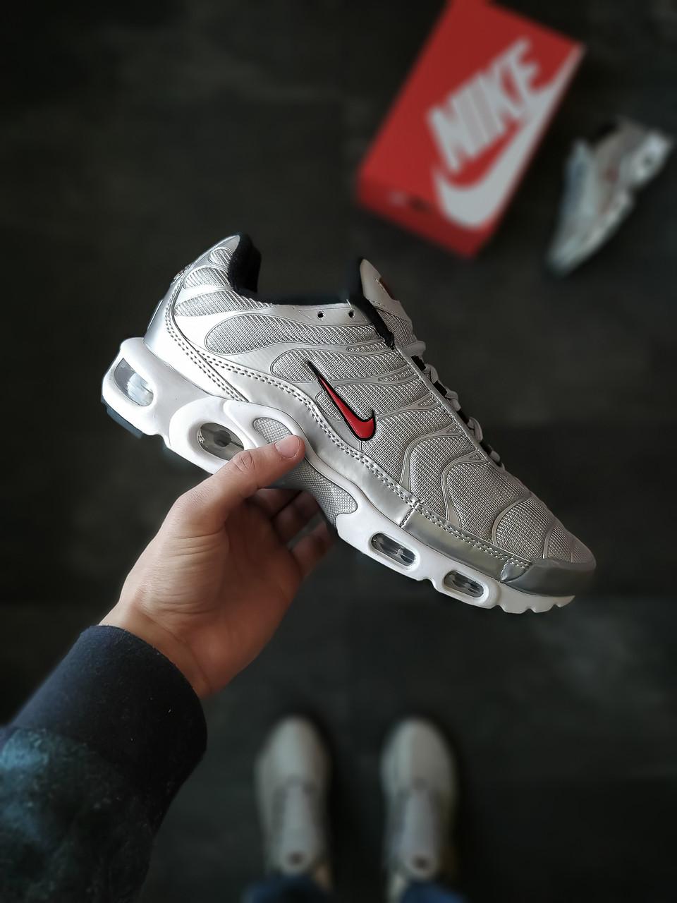Кросівки чоловічі Nike Air Max Plus TN Сірі